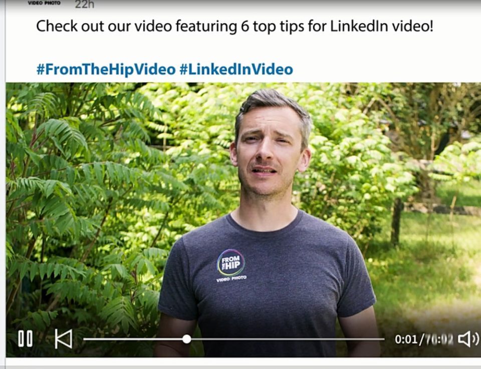How to post LinkedIn Video