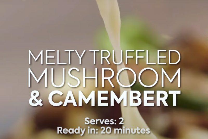 Gousto – Camembert recipe film for Social